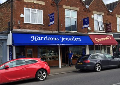 Harrisons Jewellers - sign making services