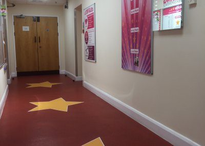Floor graphics-2 by Creative Solutions
