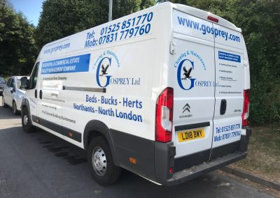 Vehicle signage & livery