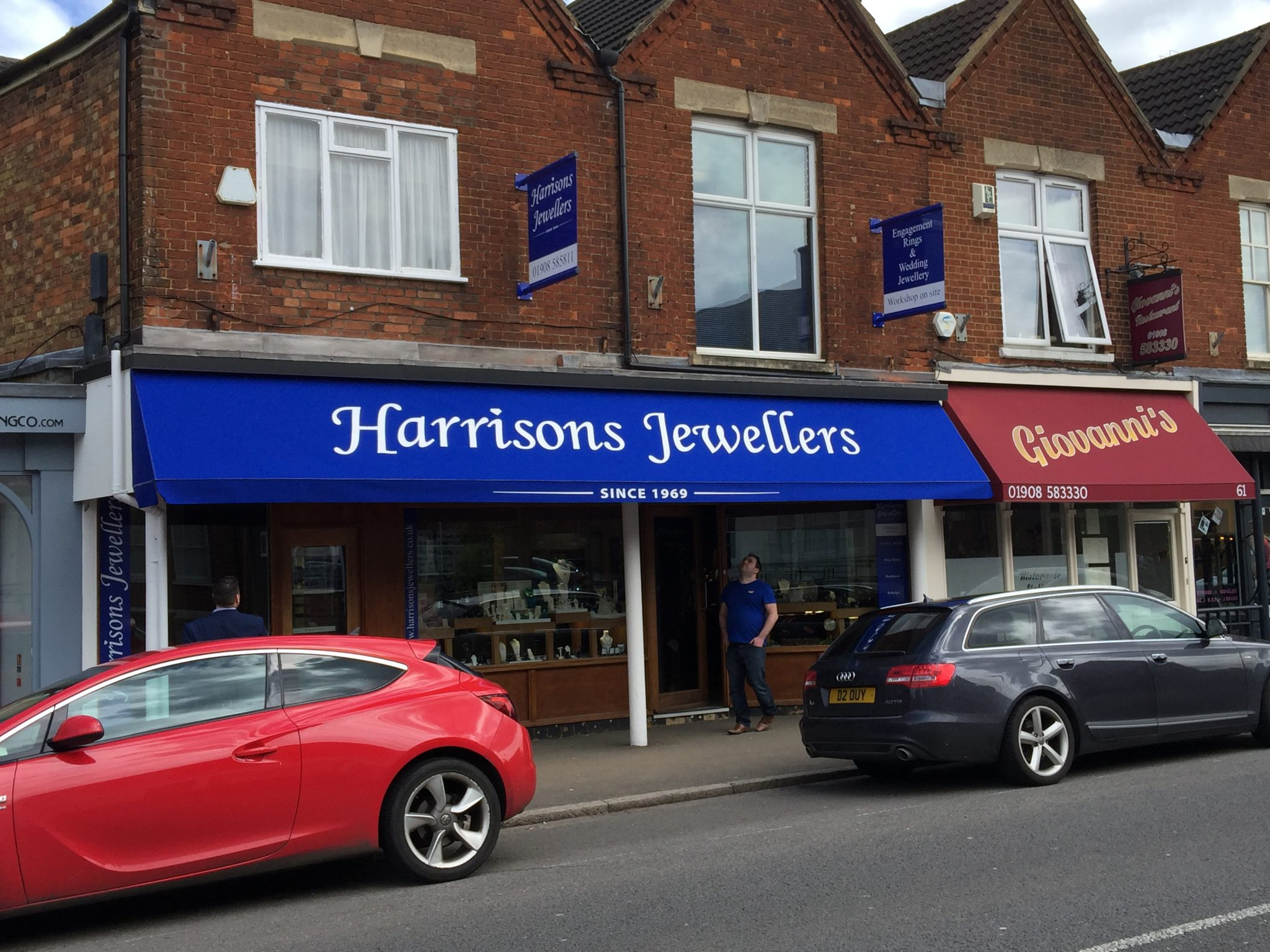 Harrisons Jewellers store